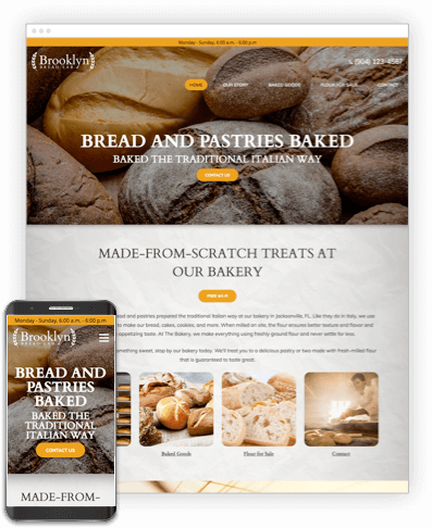 Brooklyn Bakery Website