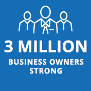 3 Million business owners strong